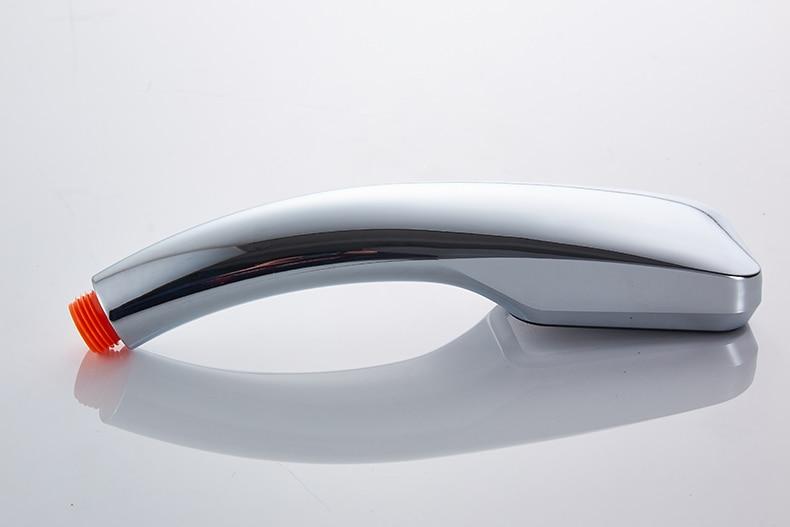 30% Water Saving 300% Pressure Boost shower head Chuveiro 300 Holes Quality ABS chrome hand hold Bathroom Shower Head 8
