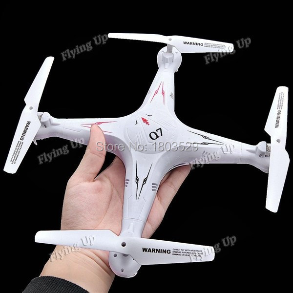 ФОТО free shipping 2015 hot sell fly drones q7 2.4ghz rc quadcopter 4ch rc drone with 6-axis protective cover model plane toy for kid