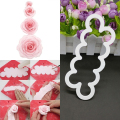 New Arrival 3D Rose Flower Mold Cutter Sugarcraft Fondant Cake Mould For Baking Maker Decorating Tools