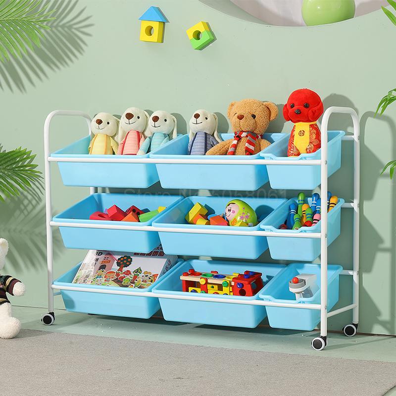 children s toy storage rack simple baby toy shelf rack multi layer storage organizer toy storage cabinet