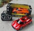Juguetes eléctricos de cuatro vías modelo de simulación de niño de coche de control remoto coche deportivo