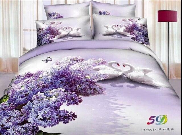 Luxe Paarse Slaapkamer : D slaapkamer dekbedovertrek beddengoed sets beddengoed sets twee