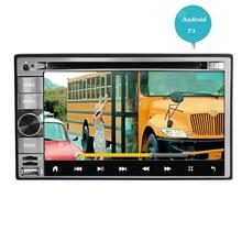 Android 7.1 Car Stereo Double 2 din FM/AM Radio Receiver Wifi Touchscreen Bluetooth DVD Player GPS Navigation Map Entertainment