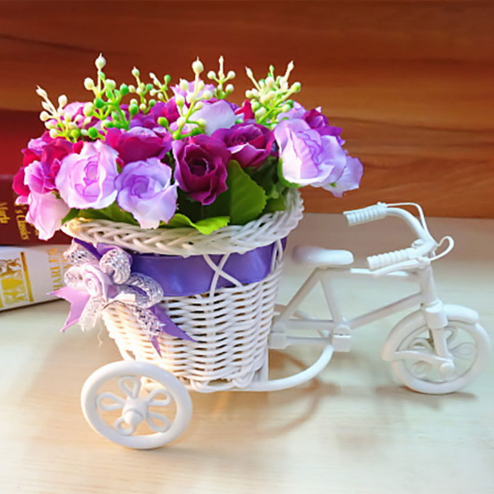 Flower Baskets Decoration : Buy wholesale bamboo flower basket from china