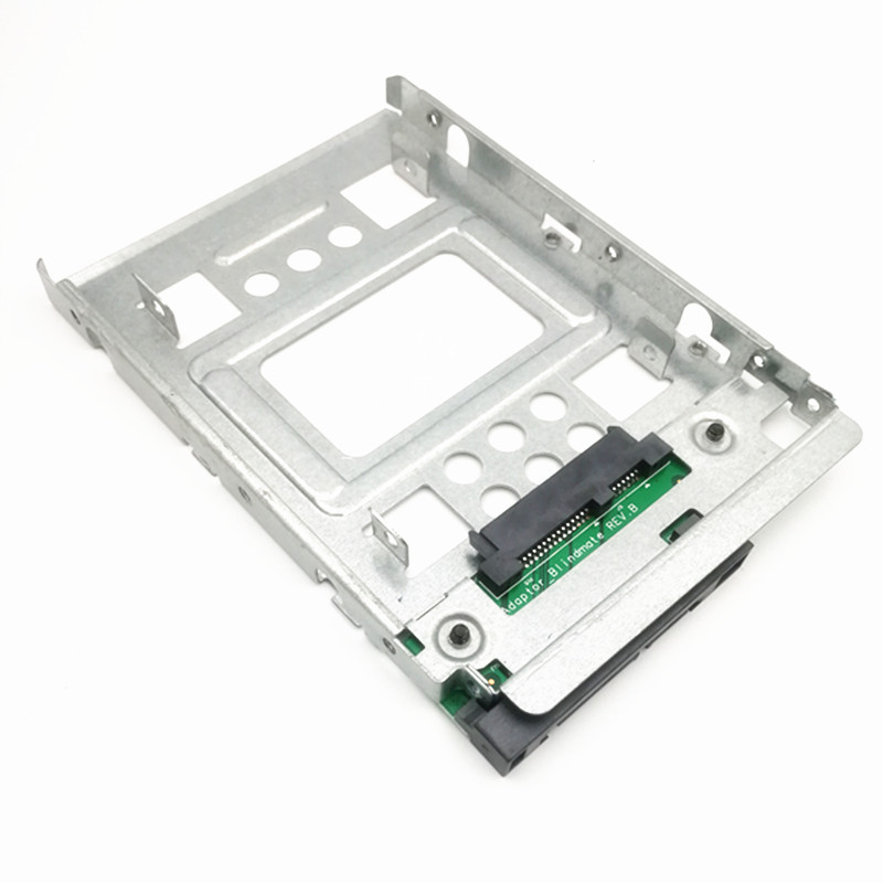 "Adaptor SATA de 2,5 ""pentru SSD la 3,5"" SAS HDD Bracket Caddy HP 654540-001, transport gratuit"