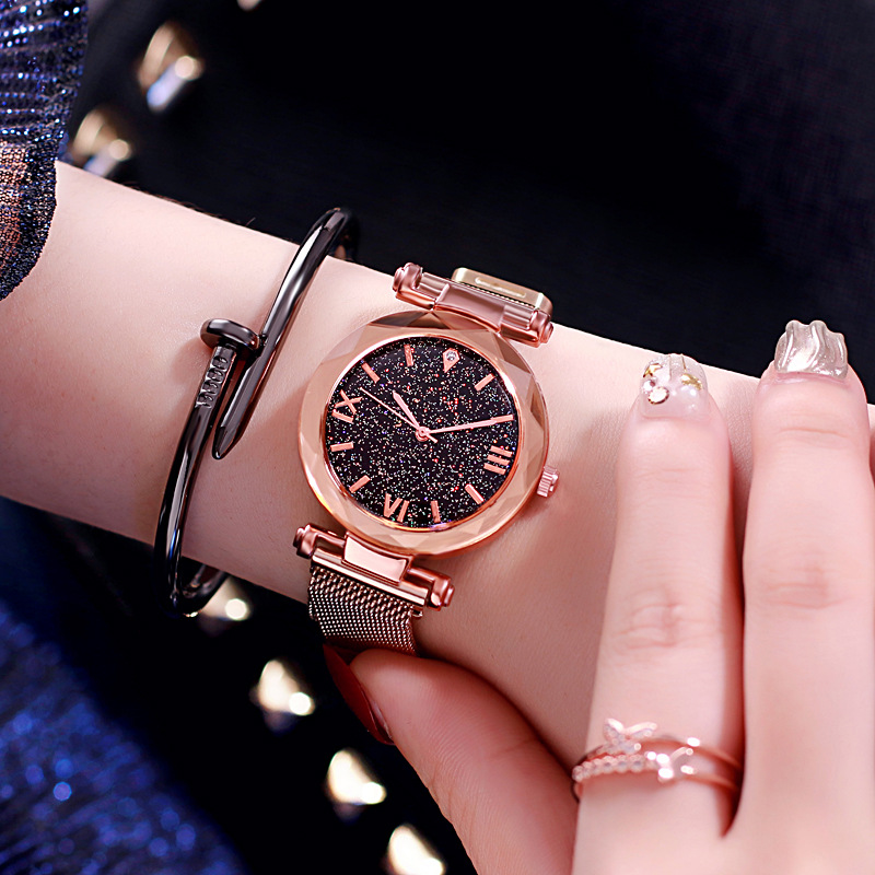 Magnet Strap Watch Women Watches Ladies Luxury WristWatch Female Vintage Dress Wrist Clock Hours Gift For Girls Relogio Feminino