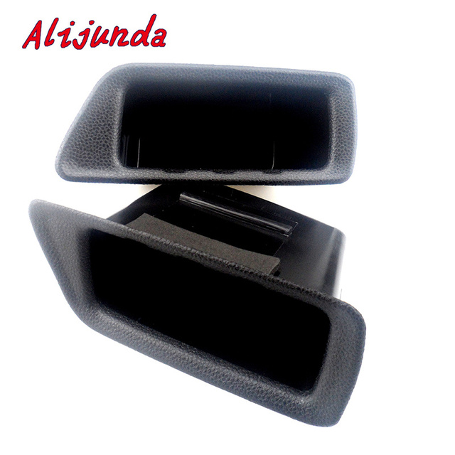 2pcs/set Car NEW ABS Inside Door Handles Interior Storage Box Cover Armrest Glove Sticker Case for Ford Ecosport Accessories
