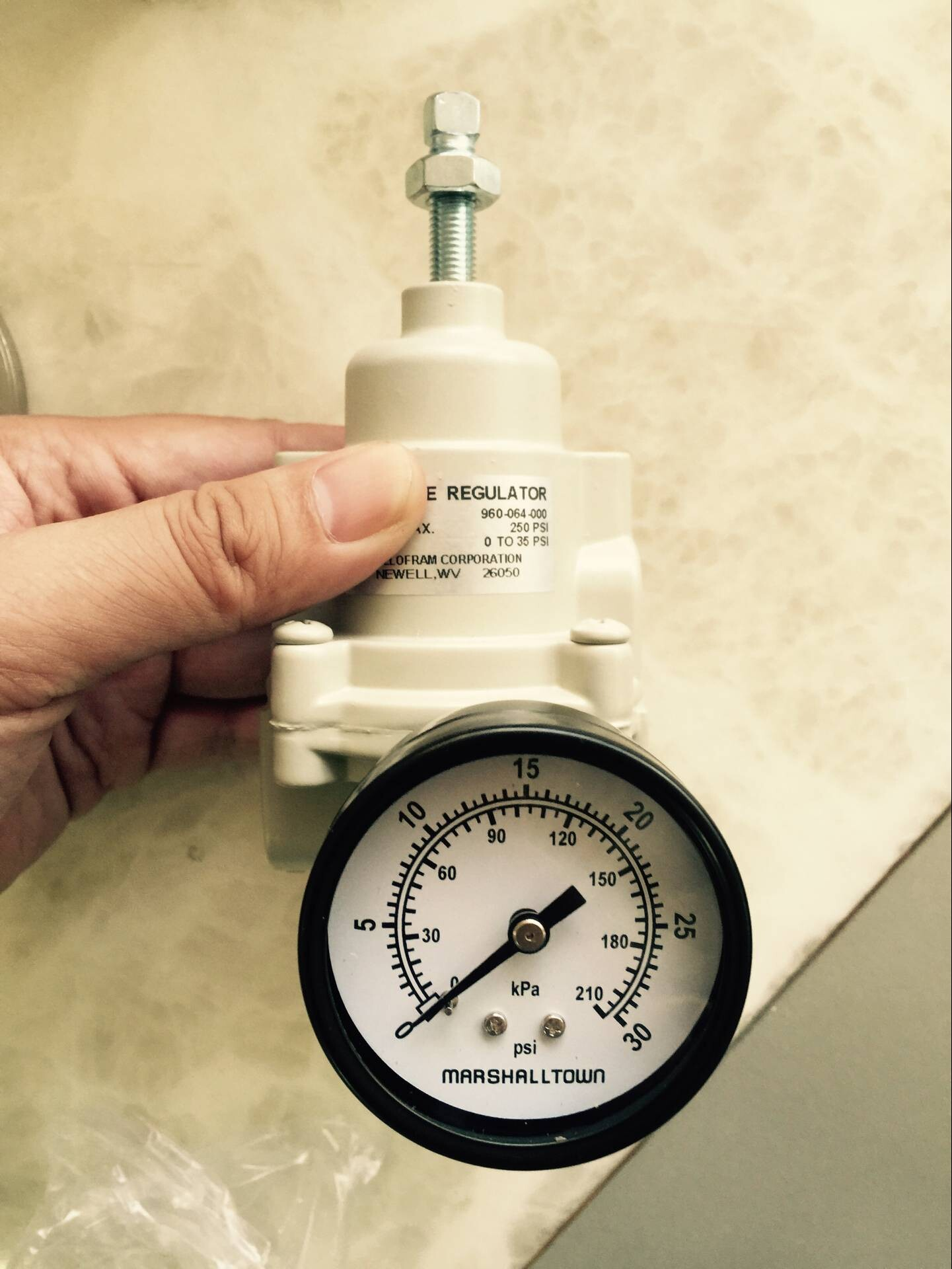 US BELLOFRAM valve 960-064-002 (without overflow without exhaust table) dn19 manual sanitary aseptic sampling valve