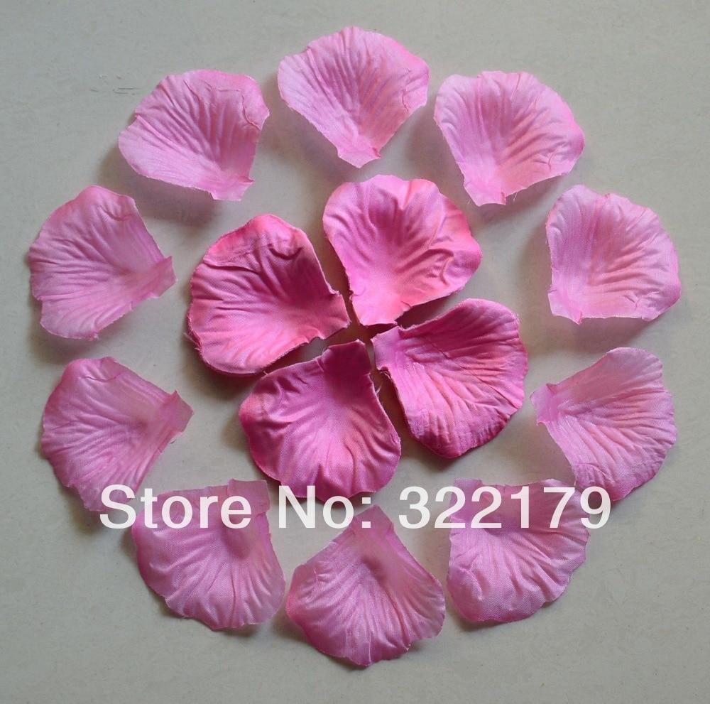 1000pcs Baby Pink Silk Rose Petals Wedding Party Decor Confetti