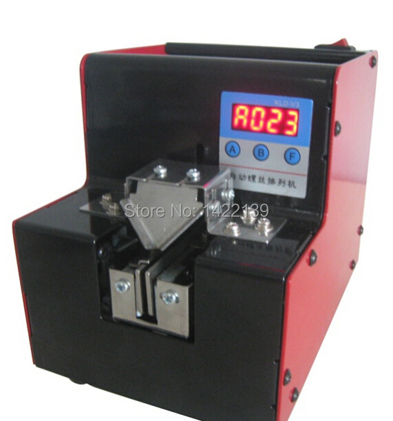 NEW Automatic Digital Display Screw Feeder Adjustable Supply Machine M0.8 - M5.0 high quality sony fk 517 automatic screw feeder rail fixed fk517 screw supplier for m1 7 screw hotsales