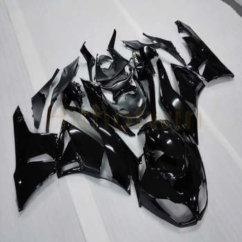 Custom+Screws Injection mold black motorcycle fairings ZX-6R 09-12 for zx6r 2009 2012 ZX6R 636