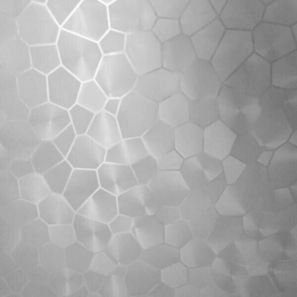 PVC 60x100cm Water Cube shape window stickers glass Window