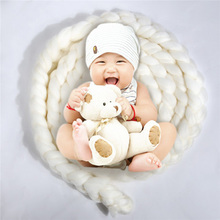 Newborn Photography Props Basket 2017 Fashion Baby Wool Blanket Solid Photo Props Backdrop Background Newborn Photography Props