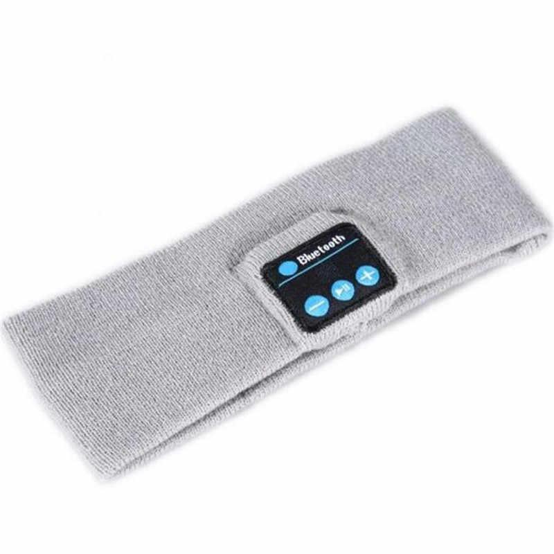 Unisex Bluetooth Không Dây V4.2 Dệt Kim Tai Nghe Stereo Tai Nghe Cầm Tay Giá Rẻ Nhạc Ma Thuật Thể Thao Thông Minh Mũ Trùm Đầu Nắp Mp3 Loa Mic