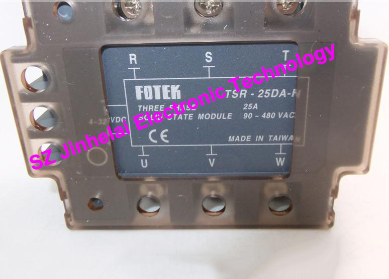 TSR-25DA-H  New and original FOTEK 3-Phase Solid state module  25A серьги tesoro tsr 54105