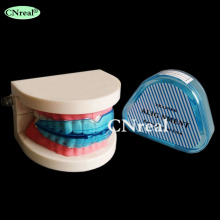 1 pc Dental Teeth Orthodontic Retainer Appliance Teeth Trainer Braces Mouthpieces (Soft) dental soft gum practice teeth model for students with removable teeth deasin