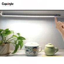 Led Armario LED Touch Sensor Kitchen Under Cabinet Light Wardrobe LED Closet