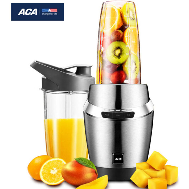 ACA AF-SE07A commercial/household blender fruit juicer machine extractor squeezer ,slow mute Stainless steel make ice cream 220V 2017 new 3rd generation juicer slow juicer juicer extractor blender make ice cream juicer