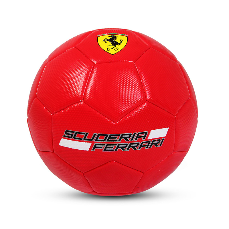 Official Size 5 Standard PVC Soccer Ball Outdoor Sport Training Football Balls Red Color For Kids Adult flashing jumping ball outdoor fun sport toy bouncing balls for kids child sport movement ankle skip color rotating ball 5 color