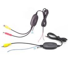 2 4 Ghz Wireless kit RCA AV AVIN Video Transmitter Receiver Reverse trigger line for car