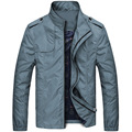 2017 spring autumn new men's jackets business casual men's simple jacket collar outwear coat for men high quality