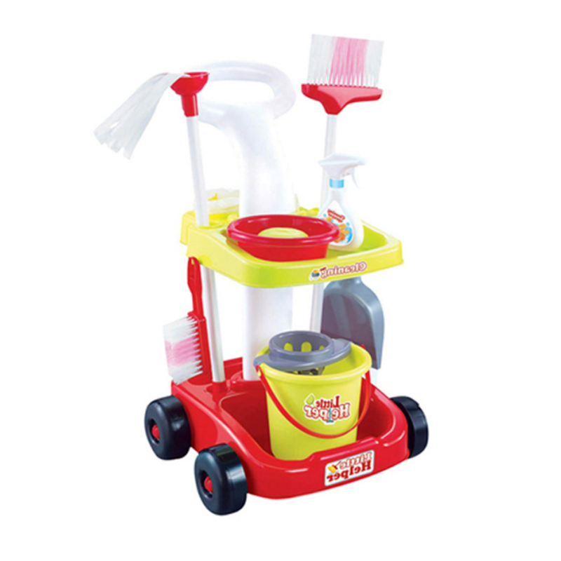 Hot 1 Pcs/Set Pretend Play Toy Cleaner Toy Playhome Kids Housekeeping Cleaning Washing Machine Mini Clean Up Play Toy Gift D33