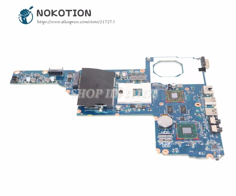 NOKOTION 694693-001 685108-001 Pour Hp CQ45-M 450 1000 2000 Ordinateur Portable Carte Mère HM75 DDR3 HD7450 1 GO