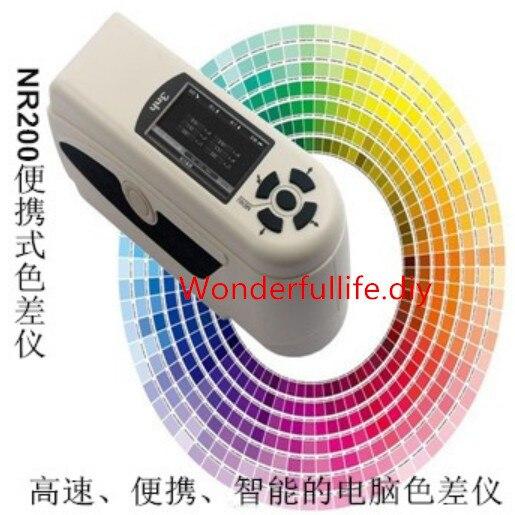professional New NR200 High-Quality Portable Colorimeter Color Tester 8mm Diameter Measuring Aperture замыкатель nr200 ups dc dc nr 200 nr 200a