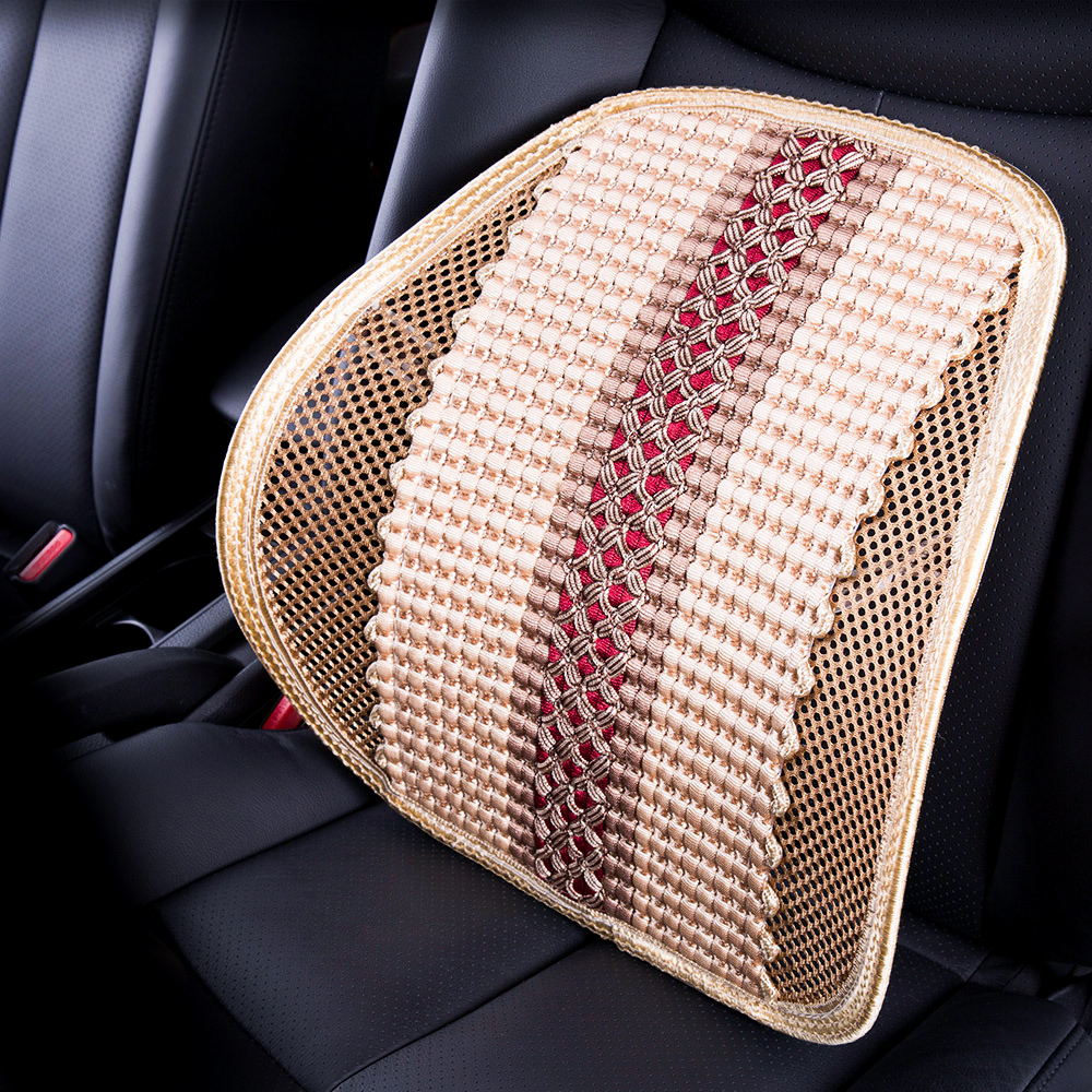 Mesh Lumbar Back Support Cushion pillow Adjustable Breathable seat Cushion for Car Seats Office Chair home Drivers cushion cool