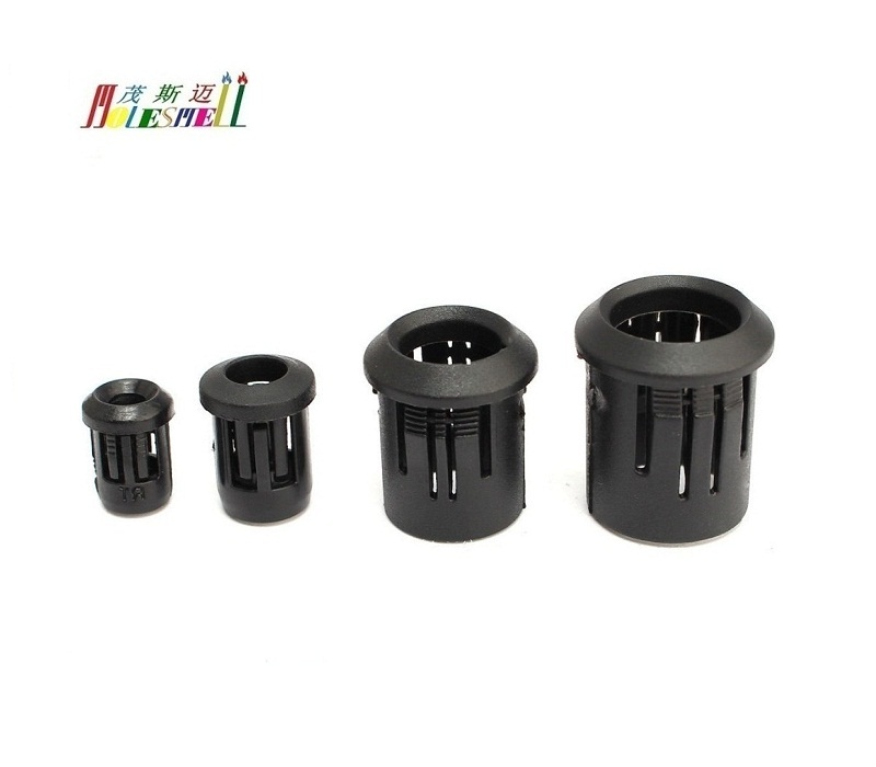10pcs 3MM 5MM 8MM 10MM LED Holder Black Plastic Diode Lampshade Holder Clip Bezel Mount Light Case Cup Bezels Mounting Cases