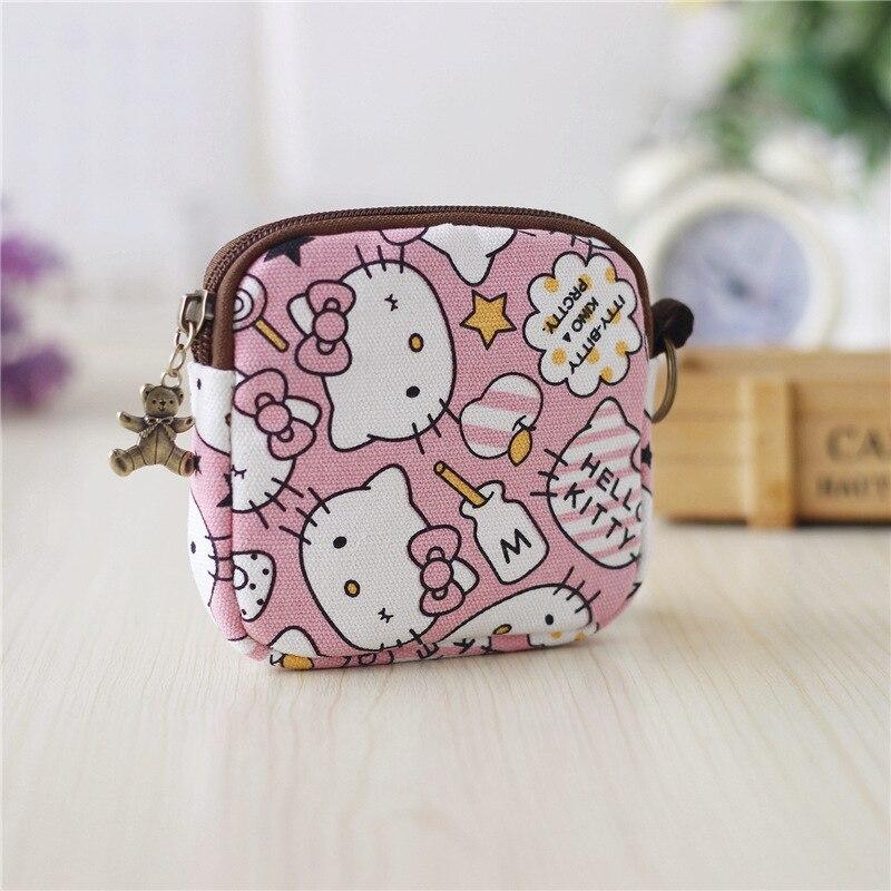 Women Portable Mini Nylon Wallet Zipper Headphone Case Earphone Bag Girl Organizer Earbuds Pouch Box for Small child Coin Purs