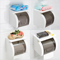 New arrival Wall mounted Waterproof toilet paper holders Tissue storage rack for kitchen bathroom accessories