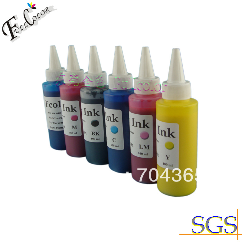 100ml Pigment Ink for Epson Stylus Photo 1400 Printing Ink Bulk CISS Refill Ink