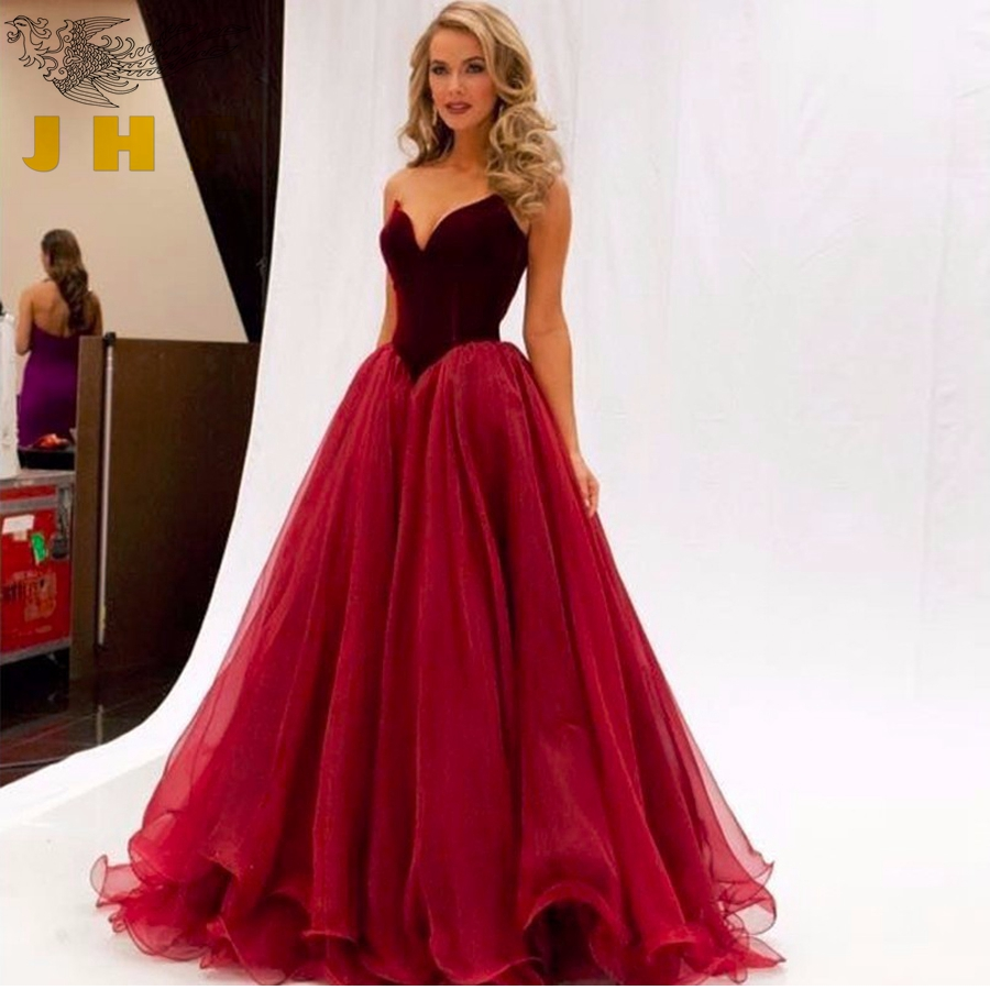 Compare Prices on Plus Size Burgundy Prom Dress- Online Shopping ...