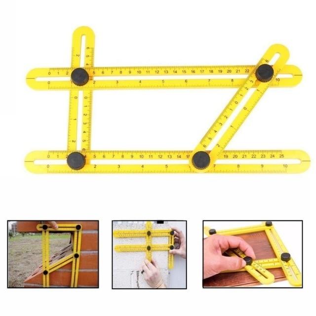Angle-izer Professional Angle Template Tool Angle Measuring Tool Protractor Multi-Angle Ruler Layout