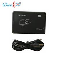 DWE CC RF dispositivo de salida de número de tarjeta sin contacto RFID windows lector de escritorio negro nfc usb lector para windows