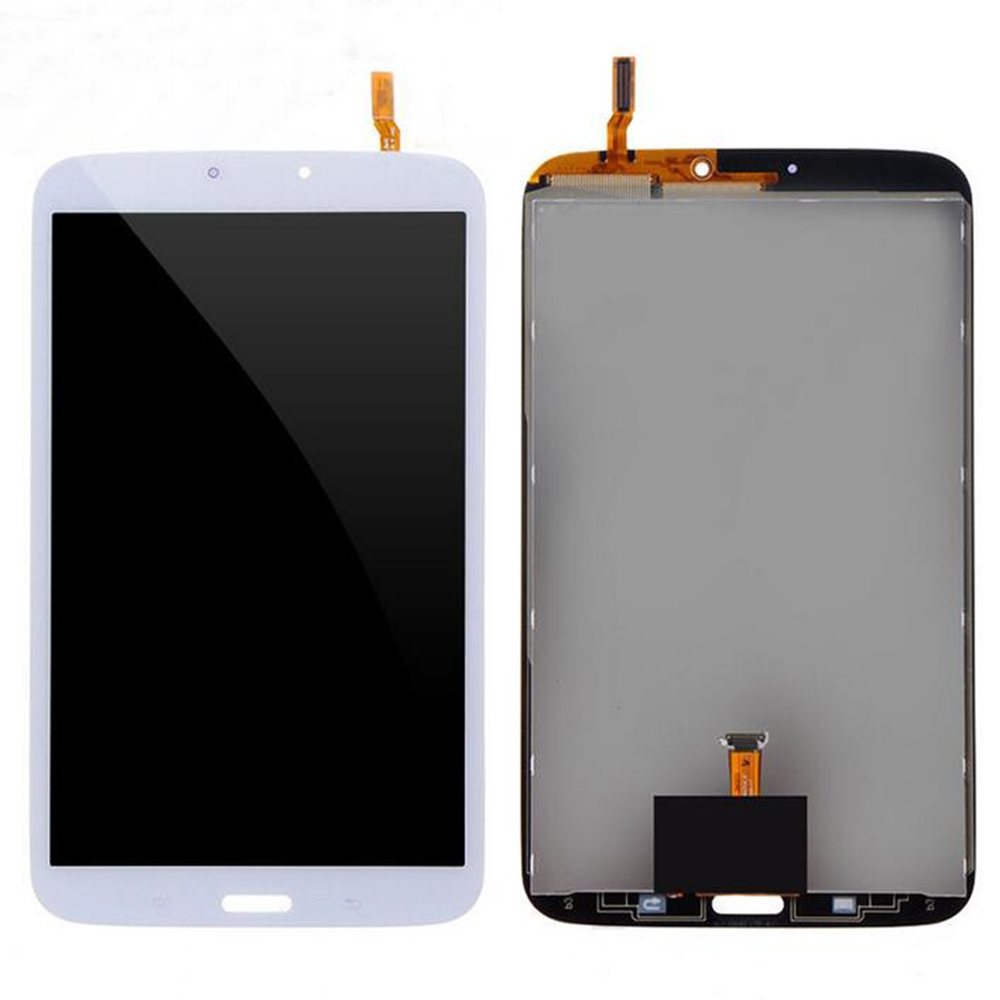 Free shipping White For Samsung Galaxy tab 3 8.0 T310 LCD screen + touch screen Display with digitizer Full Assembly white black 1 pcs for alcatel one touch idol x 6043 ot6043 lcd display with touch screen digitizer assembly free shipping