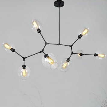 Characteristic Lindsey Adelman Pendant Light Nordic sitting room bedroom restaurant study light Industrial engineering lampCharacteristic Lindsey Adelman Pendant Light Nordic sitting room bedroom restaurant study light Industrial engineering lamp