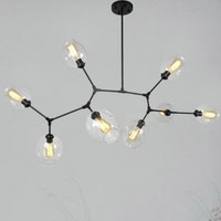 Characteristic Lindsey Adelman Pendant Light Nordic sitting room bedroom restaurant study light Industrial engineering lamp