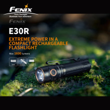 1600 Lumens Fenix E30R Rechargeable Flashlight with Magnetic Charging Cable & ARB-L18-3500 3500mAh Li-ion Battery(China)