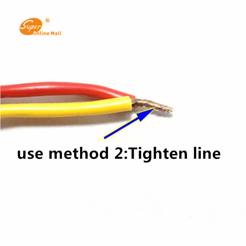 100pcs/lot P3 Insulated Splice Wire Twist Nut wire connector ...