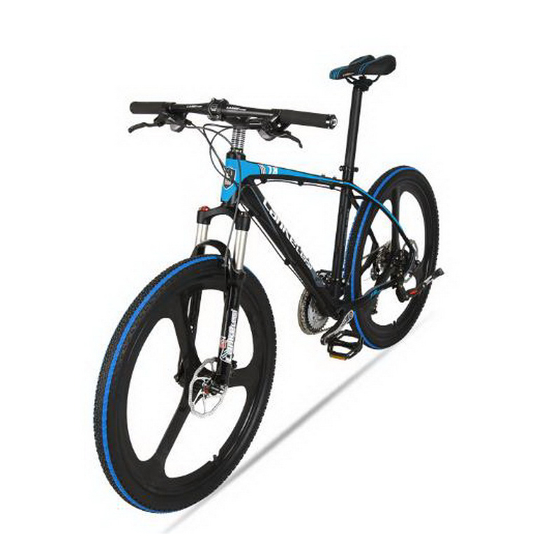 L260115/26 inch/mountain bike/aluminum alloy frame/27 speed/one round bike/men and women mountain bike/Electrostatic paint
