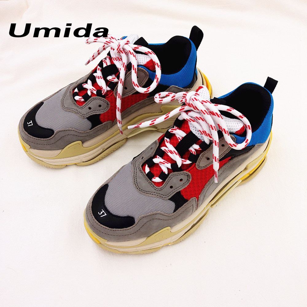 Umida Brand 2018 New Fashion Womenu0026#39;s Flats Shoes Fashion Couple Sneakers Shoes Genuine Leather ...