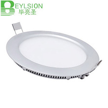 1X NEW Flat LED Panel light Super thin recessed Downlight Round for home Kitchen 3W 4W 6W 9W 12W 15W 18W 24W integrated driver