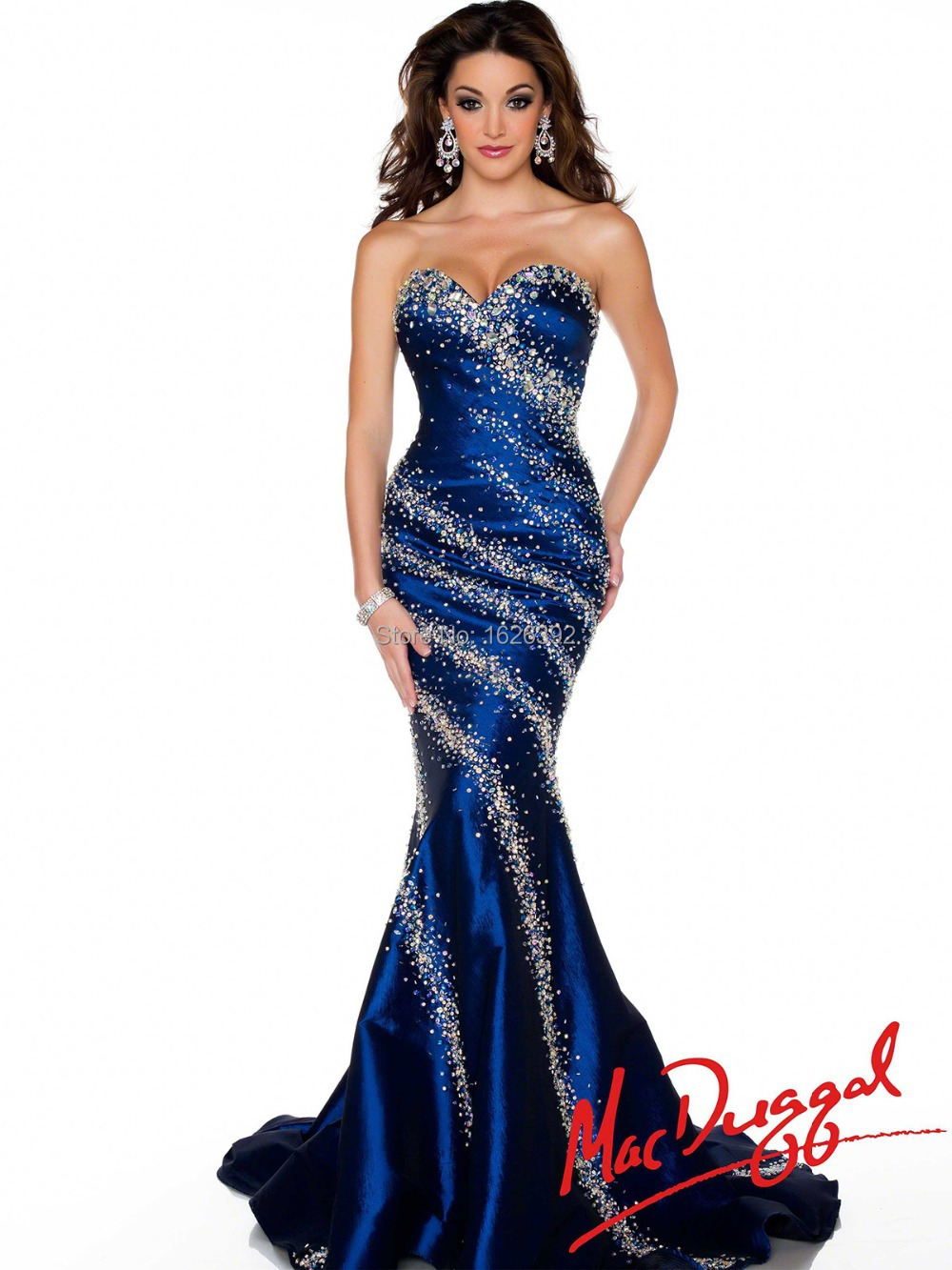 Online Get Cheap Royal Blue Prom Dress Pageant Mermaid -Aliexpress ...