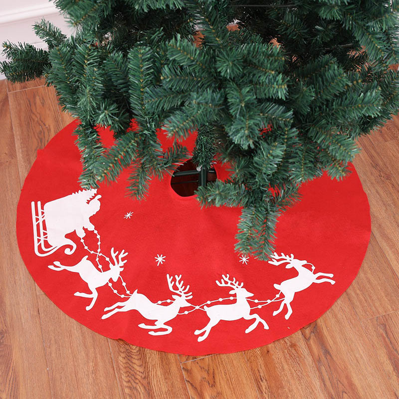Diy Christmas Tree Sweater: 1pcs Christmas Tree Floor Cover Trees Skirt Christmas DIY
