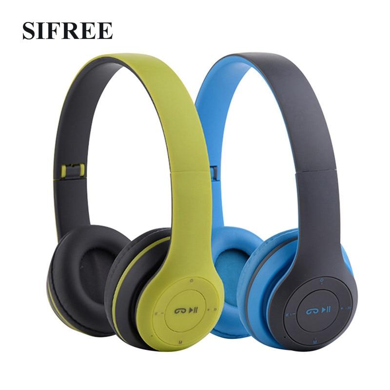bilder für Original P47 Faltbare Bluetooth Kopfhörer Wireless Stereo Headset Mit Mikrofon FM Radio Tf-karte Kopfhörer Headset für Handy
