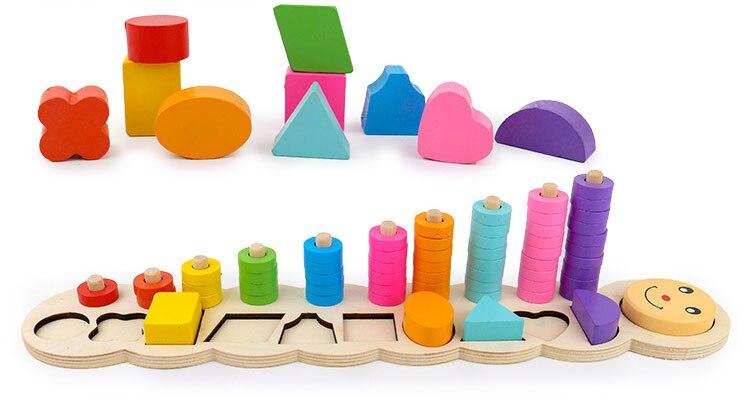 Montessori 1 Aprendendo A Contar Números Correspondentes