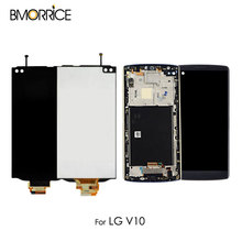 5.7 Inch Replacement Parts For LG V10 H960 H900 VS990 LCD Display With Touch Screen Digitizer Assembly No Frame Original Black lp140wh2 tlq1 new original package lg 14 0 inch led laptop screen a no bright spots