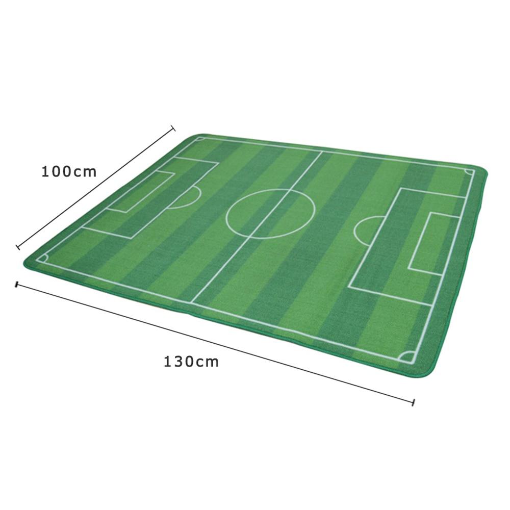100x130CM Kids Rug Carpet New Design 100% Nylon Soccer Field For Kids  Bedroom Carpet Tapete Alfombras Tapis Carpets Rugs Tapetes